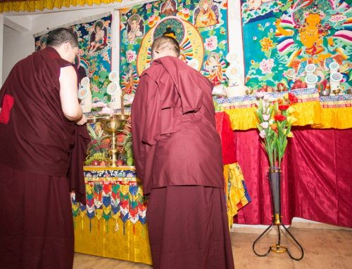 Consecration of Thangka Paintings