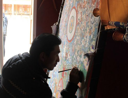 The Art of Thangka Painting